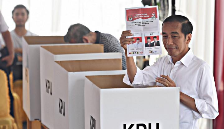 80 Persen Data Situng KPU, Jokowi Belum Terkalahkan - Warta Ekonomi