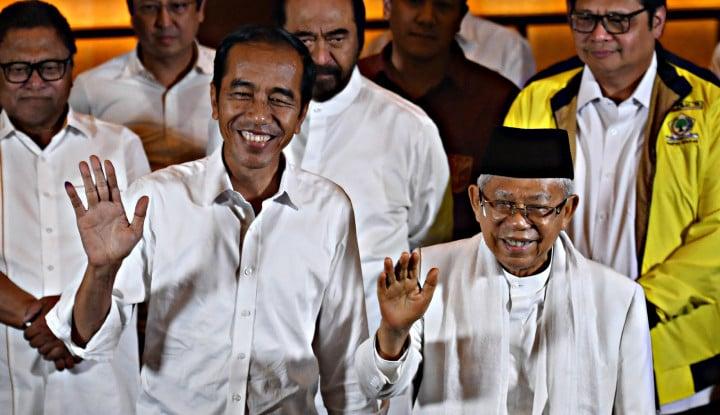 Rekap Nasional, Jokowi Menang di Jateng