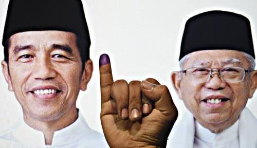 Foto Jokowi Ngaku Nggak Pernah Memantau Real Count KPU