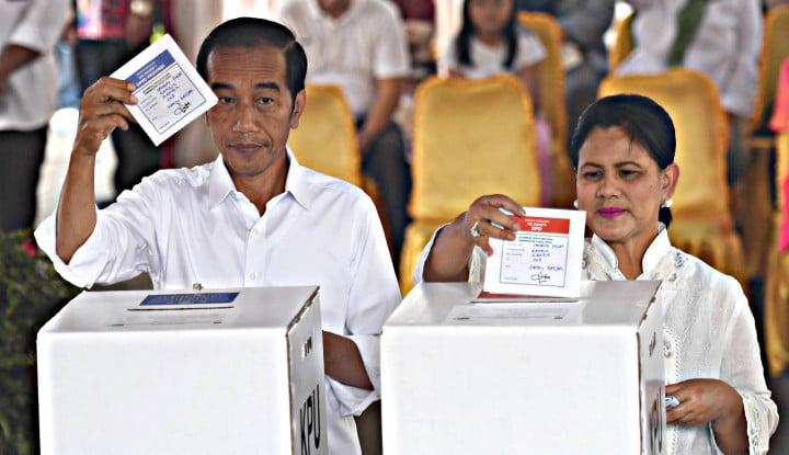Pemilu 2019 Sukses, PM Inggris Telepon Jokowi - Warta Ekonomi
