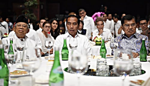 Foto Jokowi Yakinkan Investor, Indonesia Aman Pascapemilu