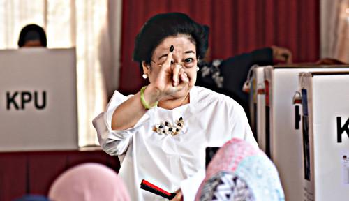 Was-Was! Megawati Pantau Quick Count dan Exit Poll
