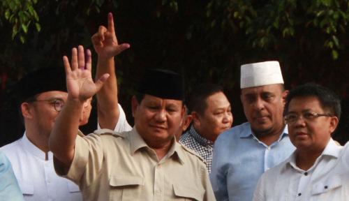 Foto Prabowo-Sandi dan PKS Kuasai Turki!