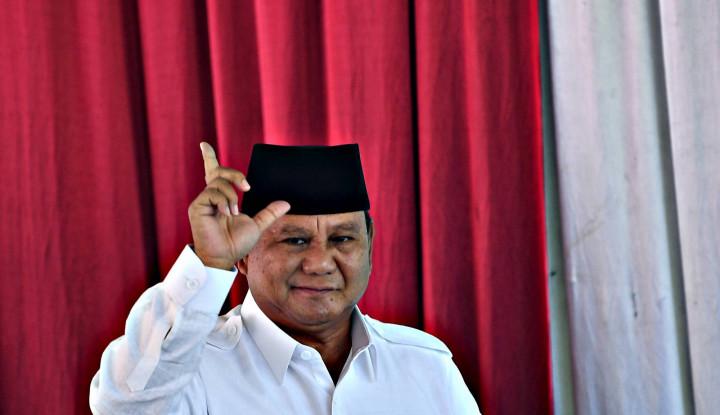 Prabowo Unggul 60 Persen - Warta Ekonomi