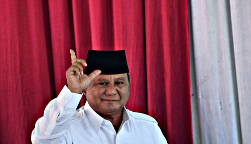 Foto Usai Nyoblos, Prabowo Diteriaki Presiden