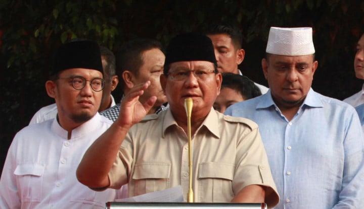 Prabowo dan Sandi Tak Akan Hadir di MK, Alasannya Kece - Warta Ekonomi