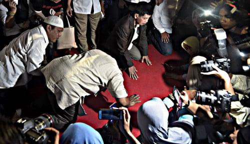 Foto Jokowi Unggul 18 Provinsi, Selisih Kekalahan Prabowo Makin Lebar