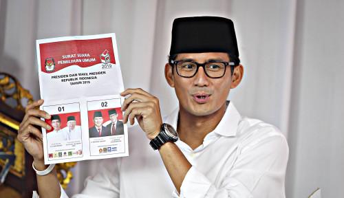 Foto Sandiaga Mau Balik Jadi Wagub DKI?