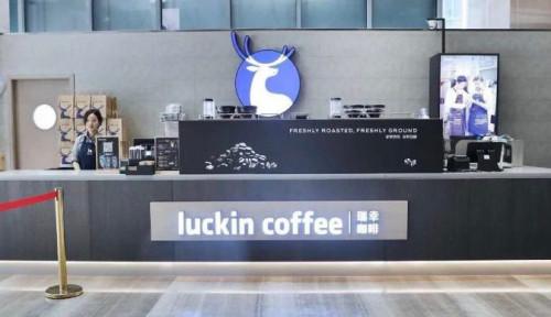 Foto Saingan Starbucks China, Luckin Coffee, Ekspansi ke Timur Tengah