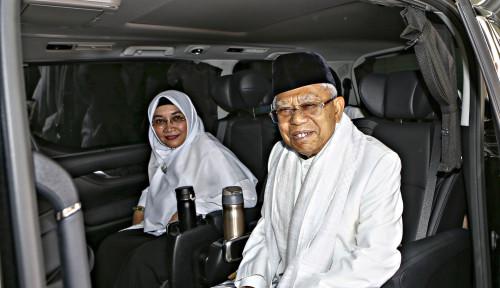 Foto Mudik Idul Adha, Ma'ruf Amin Habiskan Waktu Bersama. . . .