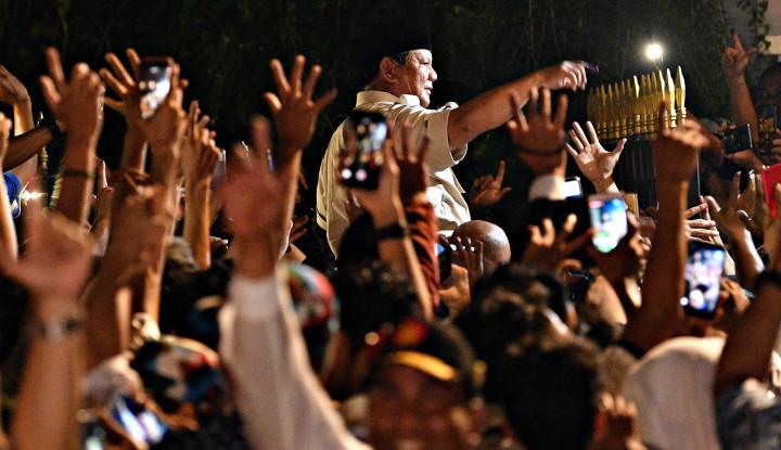 Prabowo Deklarasi Kemenangan, TKN: Lucu Sih! - Warta Ekonomi