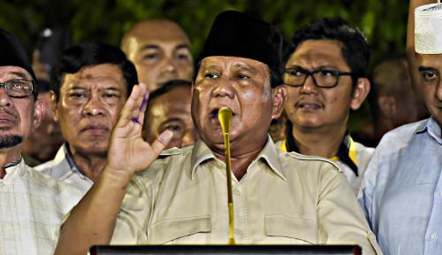 Foto Prabowo Pasti Terima Kekalahan Pilpres, Asal. . .