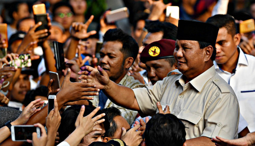 Foto Prabowo Menang Banyak di Wilayah Ini, Jokowi Cuma Dikasih 1