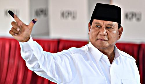Foto Acara Syukur Indonesia Kemenangan Dipindah ke Rumah Prabowo