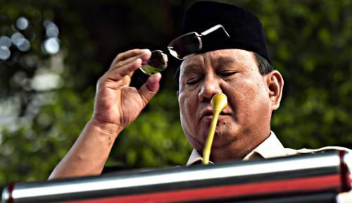 Foto Prabowo Ogah Hadiri Pesta Kemenangan Jokowi