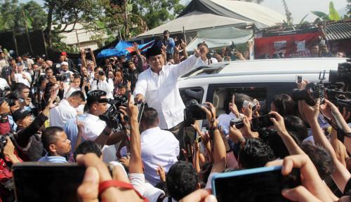 Foto Ucapan Prabowo, Sinyal Turun ke Jalan?
