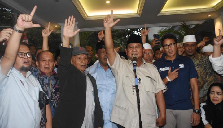 Sandiaga Tidak Hadir di Acara Syukuran Prabowo?