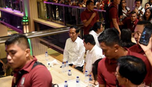 Foto Begini Lho Quality Time Jokowi Bersama Erick Thohir