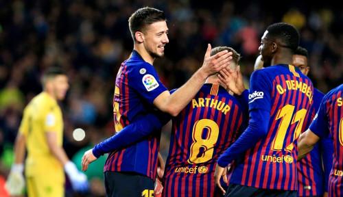 Foto Barcelona Sukses Kalahkan Real Sociedad 2-1