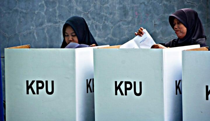 Ada Berapa Persen Warga Tak Percaya Pemilu 2019 Jurdil? - Warta Ekonomi