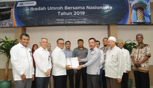 Foto Nasional Re Hadiahi Paket Umrah untuk Mitra Bisnis Asuransi dan Penjaminan Syariah