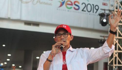 Foto Sandiaga: Prabowo Belum Ketemu Jokowi