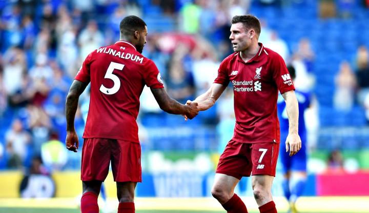 Gol Telat Milner Bawa Liverpool Raih Tiga Poin - Warta Ekonomi