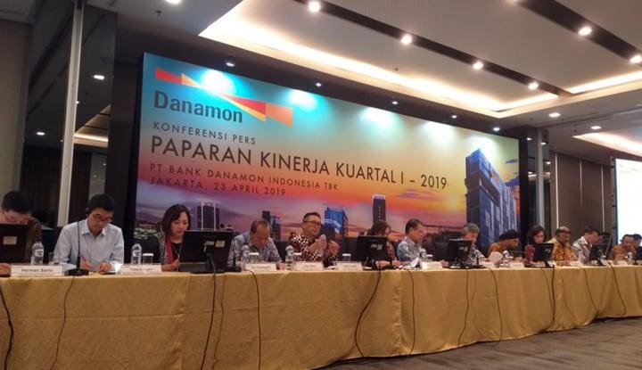 Danamon Salurkan Kredit Rp138 Triliun di Kuartal I 2019 - Warta Ekonomi