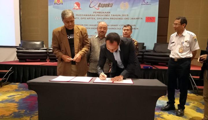 Bakal Jadi Smart City, Jakarta Segera Terapkan Blockchain? - Warta Ekonomi