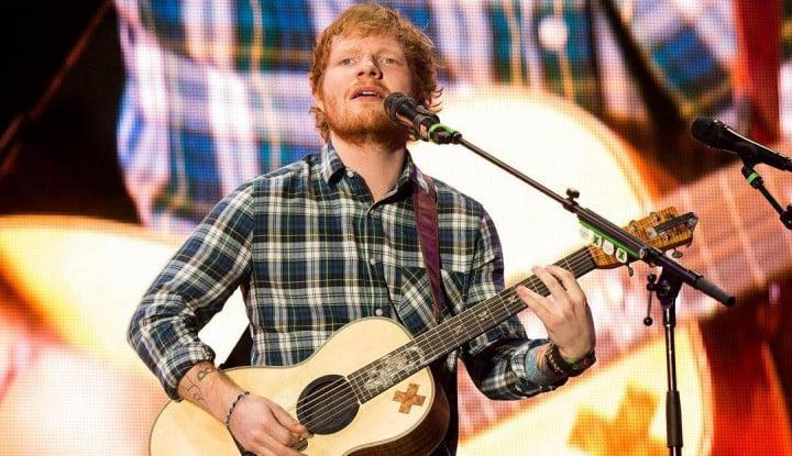 Wow! Ed Sheeran Bakal Jadi Miliarder Dua Tahun ke Depan