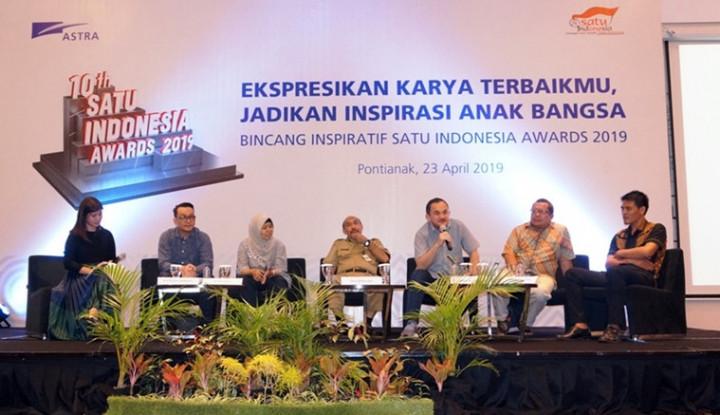 Inspirasi 10th SATU Indonesia Awards 2019 Hadir di Kota Khatulistiwa - Warta Ekonomi