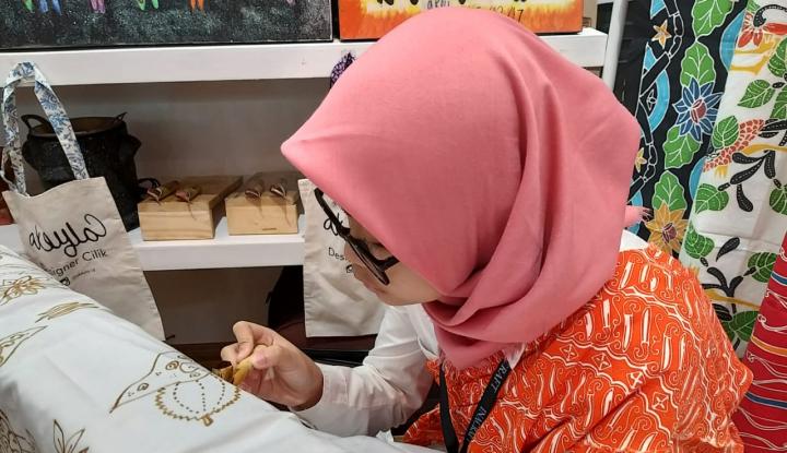 GBN Bantu Pengrajin dari Hantaman Batik Printing - Warta Ekonomi