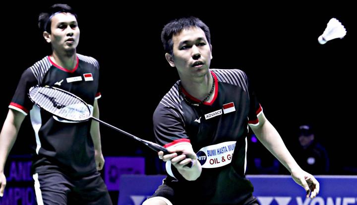 Taklukkan Juniornya, Ahsan/Hendra Lolos Perempat Final Hong Kong Open 2019 - Warta Ekonomi