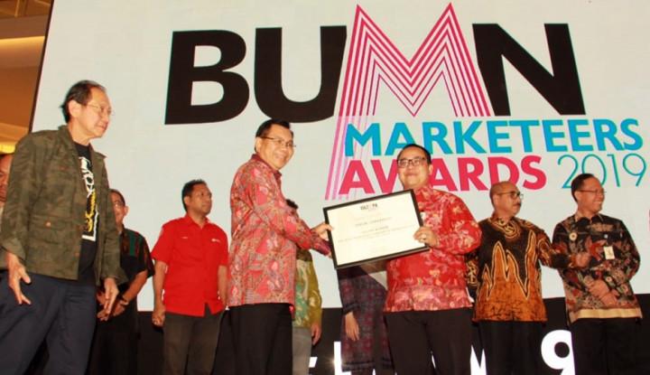 Jamkrindo Sabet Silver Winner dari BUMN Marketeers Awards 2019 - Warta Ekonomi