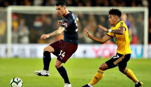 Foto Si Pembunuh Tim Raksasa Wolves Lumat Arsenal 3-1
