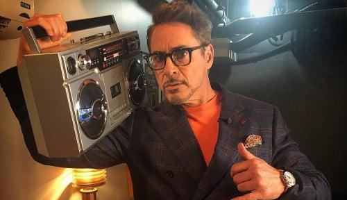 Foto Pemeran Iron Man Ungkap Kisah Memalukan di Disneyland