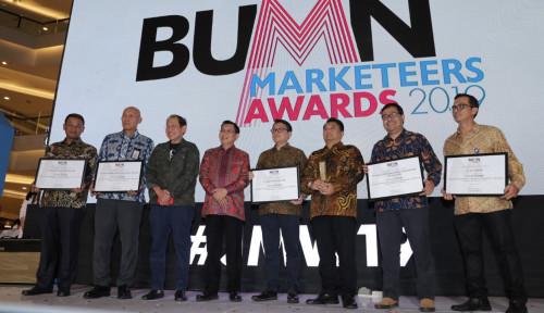 Foto Di BUMN Marketeers Awards 2019, PLN Group Raih 10 Penghargaan