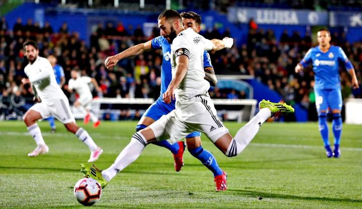 Real Madrid Cuma Bisa Main Imbang Lawan Getafe 0-0