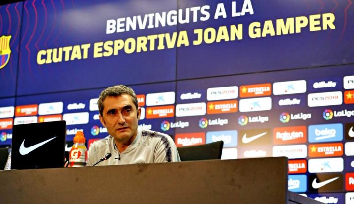 Valverde Diperlakukan Buruk, Iniesta Kecewa pada Barcelona - Warta Ekonomi