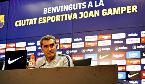Foto Valverde Diperlakukan Buruk, Iniesta Kecewa pada Barcelona
