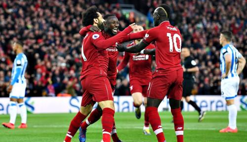 Foto Liverpool Sukses Curi Poin Penuh di Kandang Southampton