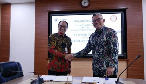Foto Jalin Sinergi, Askrindo dan Semen Tonasa Manfaatkan Asuransi Kredit Perdagangan