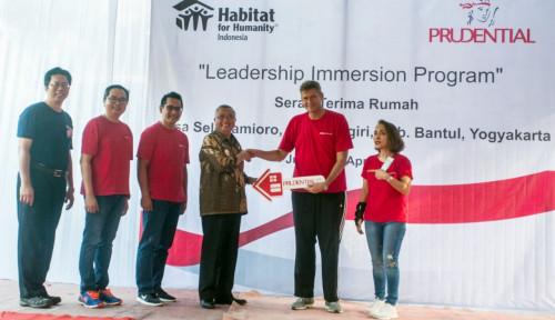 Foto Prudential Tuntaskan Pembangunan 30 Rumah di Bantul