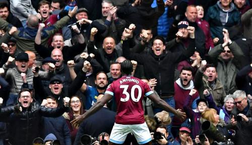 Foto Dahsyat, West Ham Jinakkan Chelsea 1-0