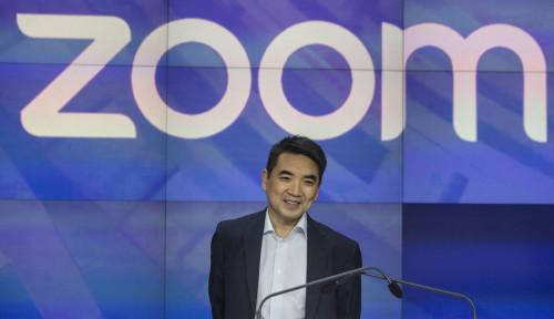 Foto Populer dan Kontroversial Akibat Corona, Ternyata Ini Sosok di Balik Kesuksesan Aplikasi Zoom