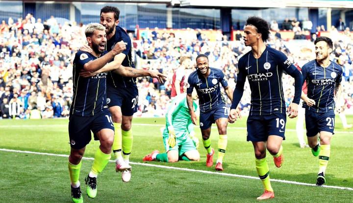 Man City Juara Liga Inggris 2018-2019