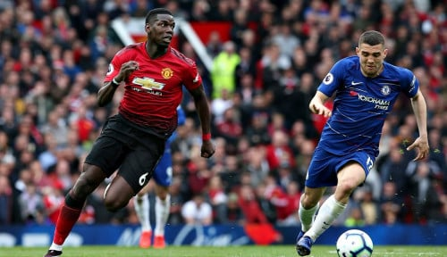 Foto Man United Berbagi Angka dengan Chelsea 1-1