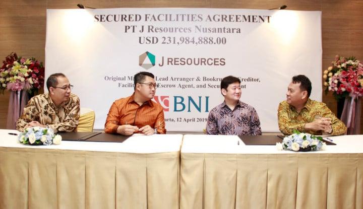 Raih US$231,9 Juta dari BNI, J Resources Danai Proyek Tambang - Warta Ekonomi