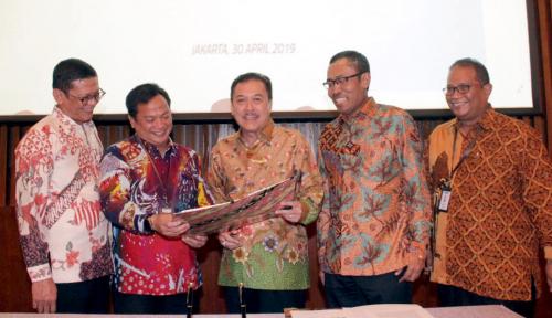 Foto Jamkrindo–PNM Bersinergi Tingkatkan Ekonomi Mikro