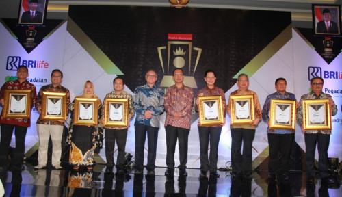 Foto Inilah Para Pemenang Indonesia Financial Top Leader Award 2019